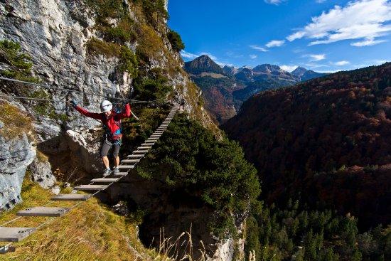 Klettersteig Salewa : Bergfex sehenswürdigkeiten salewa klettersteig am iseler bad