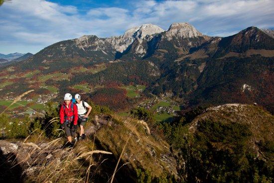 Kempinski Hotel Berchtesgaden: Salewa Klettersteig