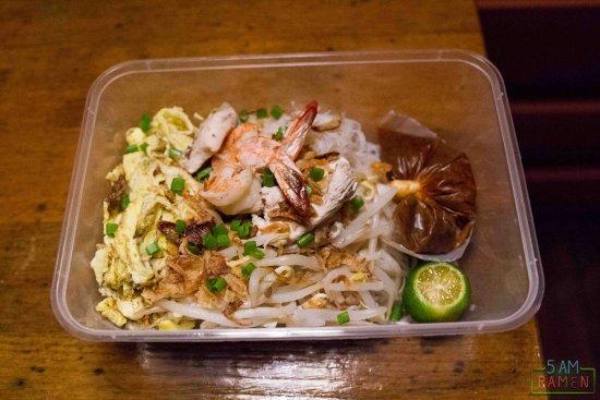 Permai Rainforest Resort: Takeout laksa from restaurant