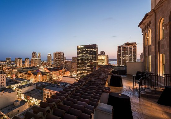 Courtyard San Diego Downtown: Presidential Suite Patio