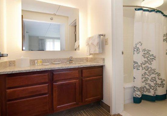 Edina, MN: Suite Bathroom