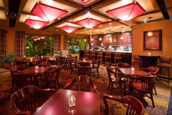 Πλίμουθ, Μινεσότα: Creekside Lounge At The Crowne Plaza Minneapolis West