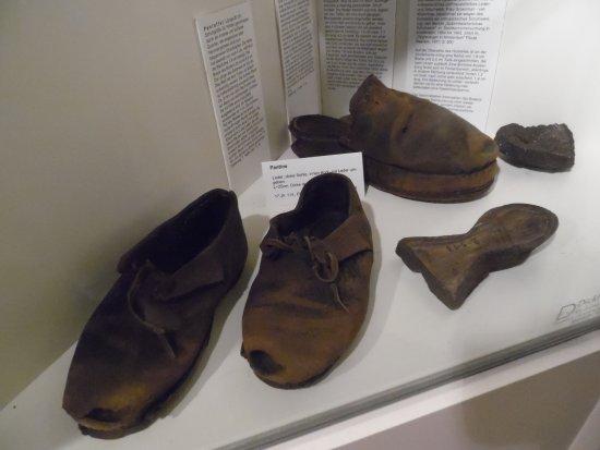 Bocholt, Deutschland: Medieval shoes