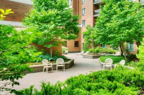 Les Suites Hotel Ottawa: Garden Courtyard