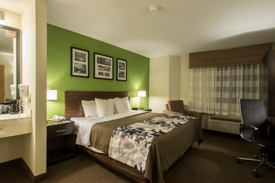 Sleep Inn Manchester Airport: Guest Room