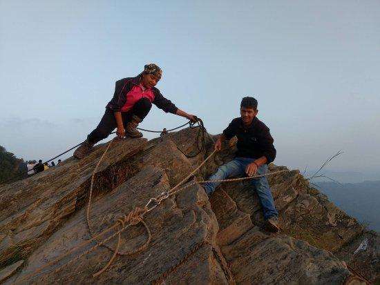 Wildrift Adventures -  Camp Purple Mukteshwar: Grappling point