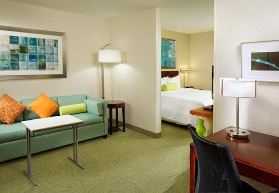 SpringHill Suites Des Moines West: King Suite