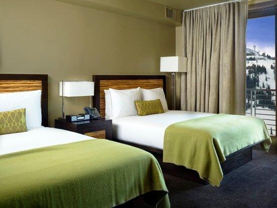 Teton Village, WY: Twin Beds