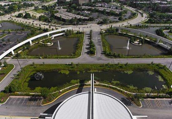 Renaissance Schaumburg Convention Center Hotel: Aerial