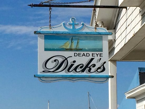 Dead Eye Dick's front signage