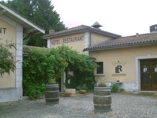 Listrac-Medoc, Frankrig: entrée du restaurant