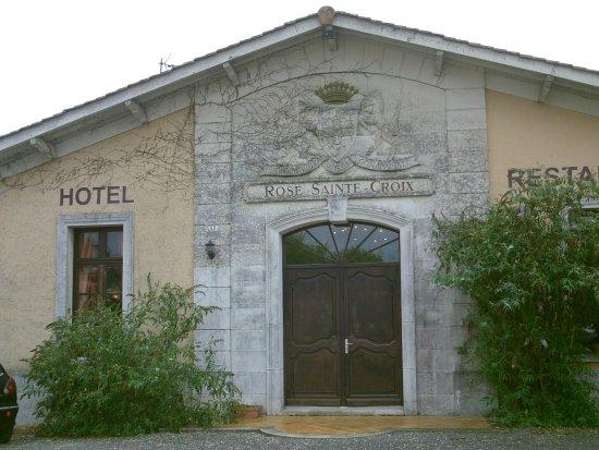 Listrac-Medoc, Frankrig: façade du restaurant