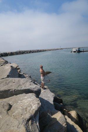Dana Point, CA: Fiske från piren (behöver ej license)