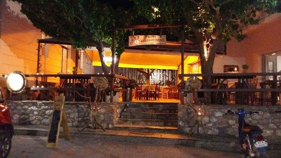 Σπάρτη, Ελλάδα: outdoor seating