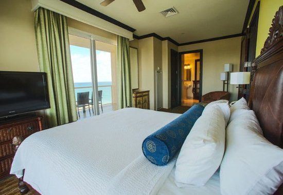 Jensen Beach, Флорида: Oceanview Governor Suite - Bedroom