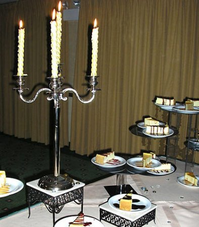 Salina, KS: Wedding Dessert Table