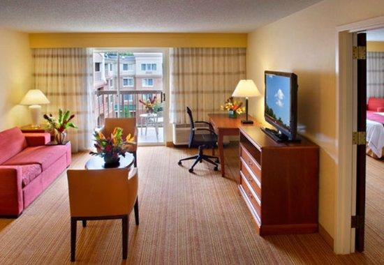 Basking Ridge, NJ: Queen/Queen Suite Living Space