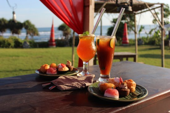 Hotel Tugu Bali: afternoon tea