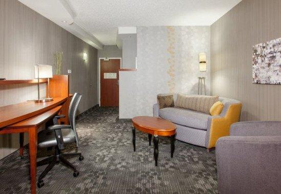 Malvern, Pensilvania: King Suite - Living Area