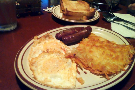 Fernley, NV: gold miners breakfast with sausage