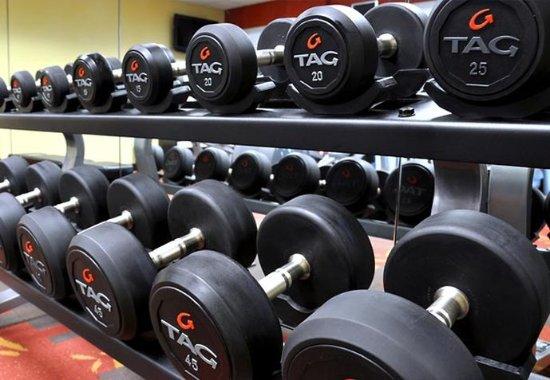Wausau, Ουισκόνσιν: Fitness Center - Free Weights
