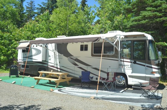 Indian Brook, Canada: New Oceanfront RV 40 ft.