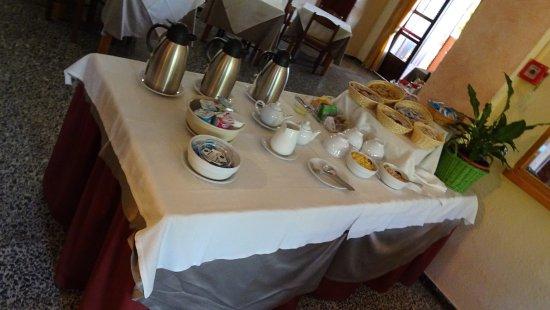 Hotel Su Giudeu: fin du petit déjeuner