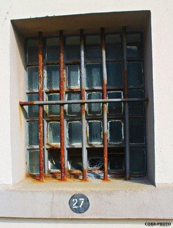 Peterhead, UK: cell window