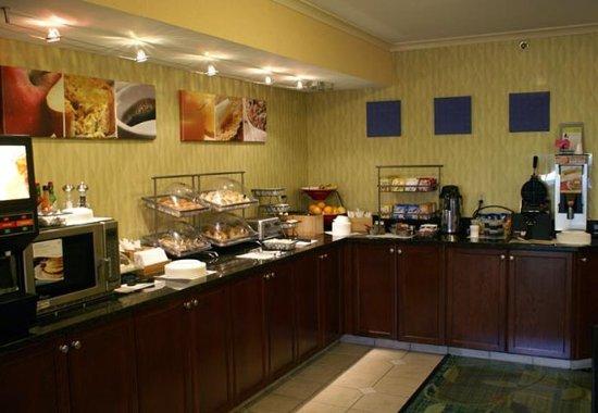 New Stanton, Πενσυλβάνια: Breakfast Buffet