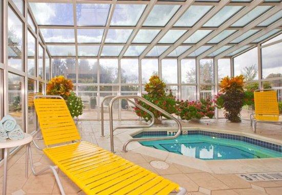 New Stanton, Πενσυλβάνια: Indoor Whirlpool