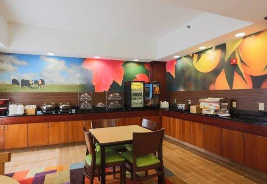 Berea, Κεντάκι: Breakfast Area