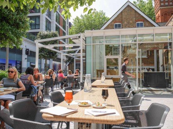 the terrace picture of charlottes w5 london tripadvisor