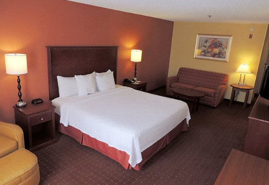 Fairfield Inn Shreveport Airport: King Guest Room with Sofabed