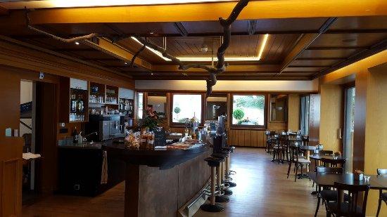 Avry-devant-Pont, Швейцария: Le bar de la brasserie