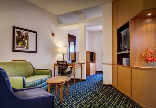 Noblesville, Индиана: Suite Living Area