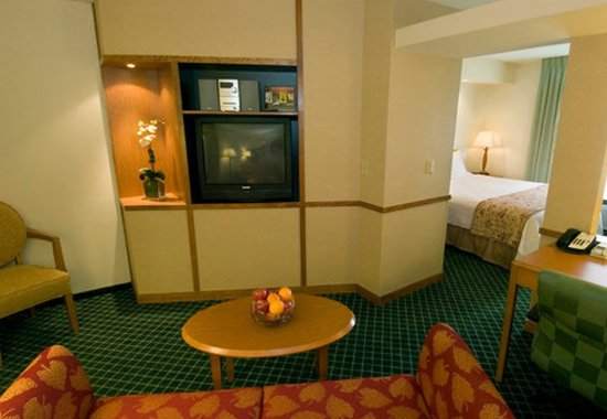Valparaiso, IN: Executive King Suite Lounge Area