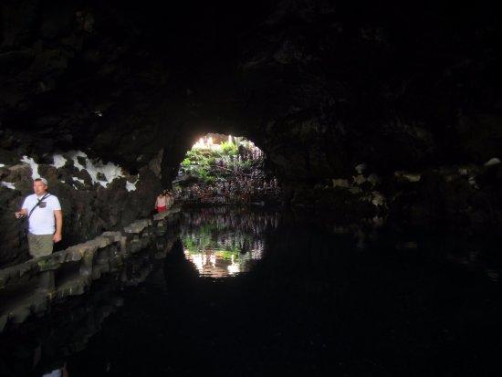 Punta Mujeres, สเปน: Widok na jezioro