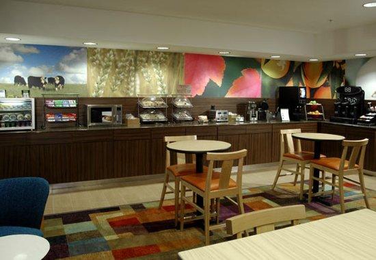 Fairfield Inn Kalamazoo West: Breakfast Area