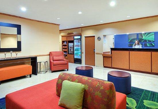Fairfield Inn & Suites Tampa North : Lobby
