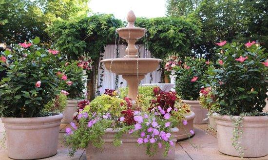 Fairfax, VA: Fountain in Garden