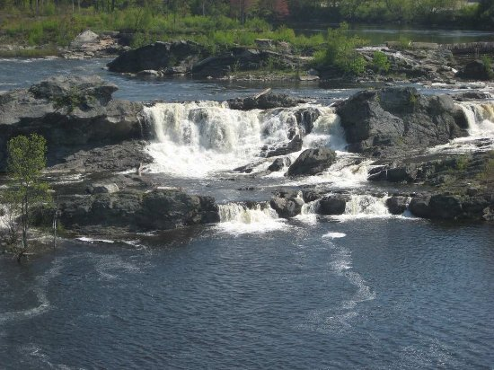 Auburn, ME: Banks of the Androscoggin and Great Falls