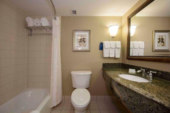 Hilton Garden Inn Athens Downtown: Standard King Bathroom