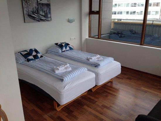Kopavogur, ไอซ์แลนด์: Schlafbereich