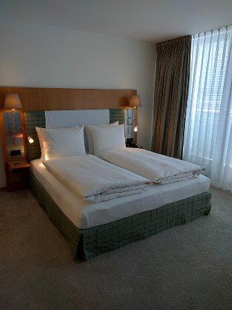 The Mandala Hotel: Die Betten in der Suite.
