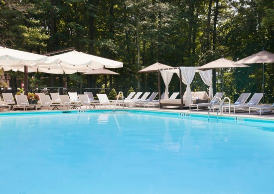 ‪‪Rye Brook‬, نيويورك: Outdoor Pool‬