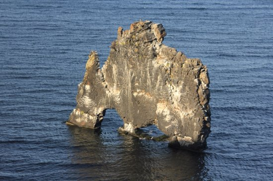 Blonduos, Island: Hvitserkur in all its beauty
