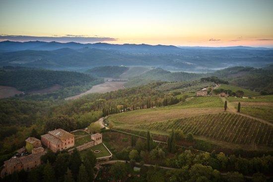 Vagliagli, Italien: panorama