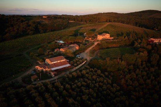 Vagliagli, Italien: panorana