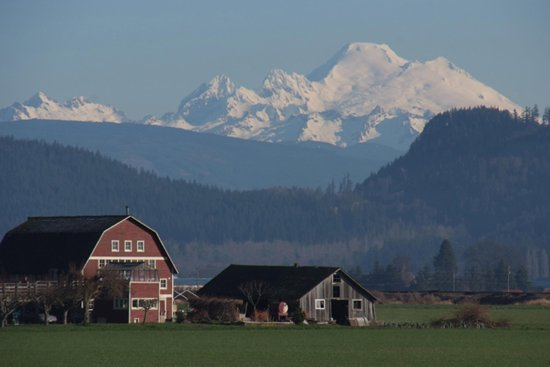 Burlington, Waszyngton: Skagit Valley Historic Barns