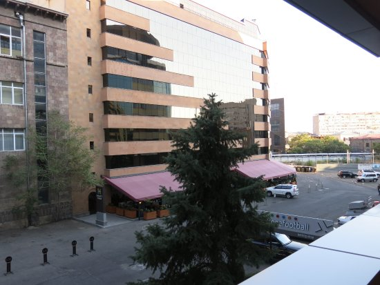 Erebuni Hotel: View from the room